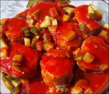 рыба в томате_ryba v tomate
