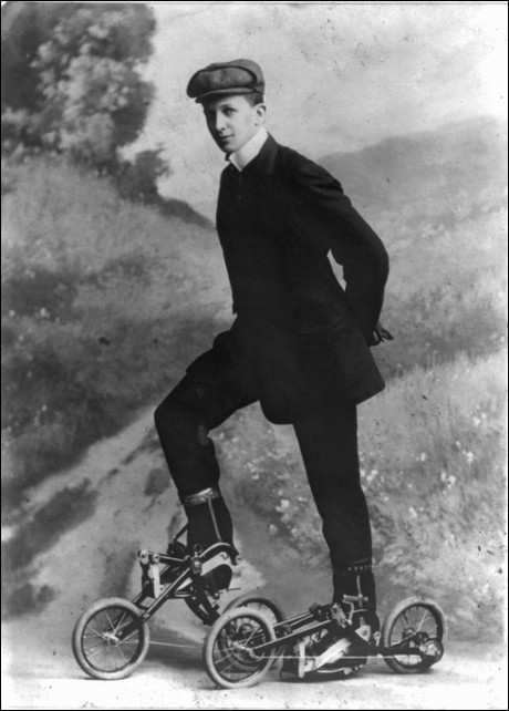 роликовые коньки 1910 года_rolikovye konki 1910 goda