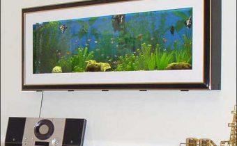 аквариум в виде картины_akvarium v vide kartiny