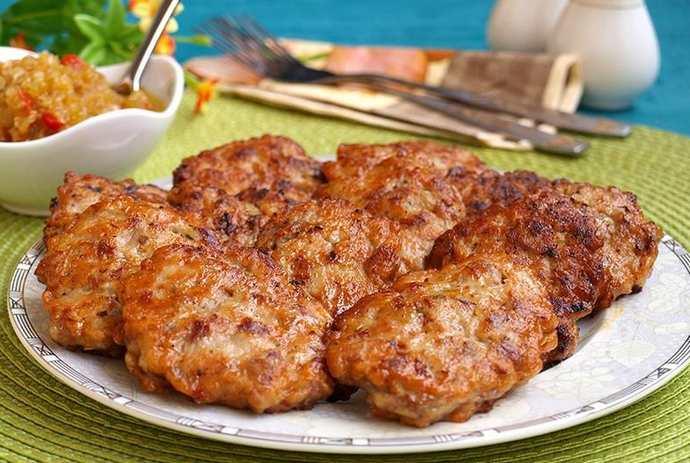 Котлеты из рубленой говядины
