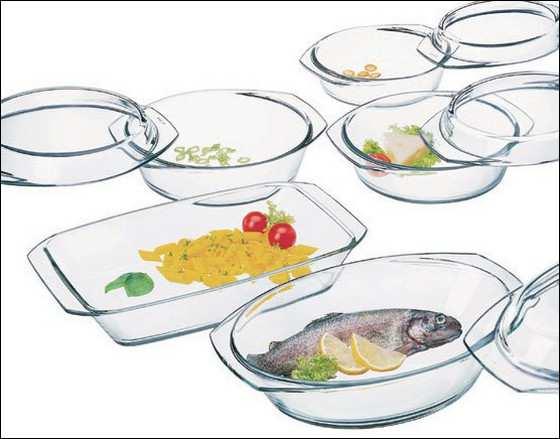 посуда из жаропрочного стекла_posuda iz zharoprochnogo stekla