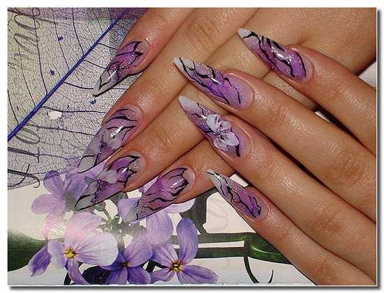 Наращивание ногтей рисунки дизайн ногтей