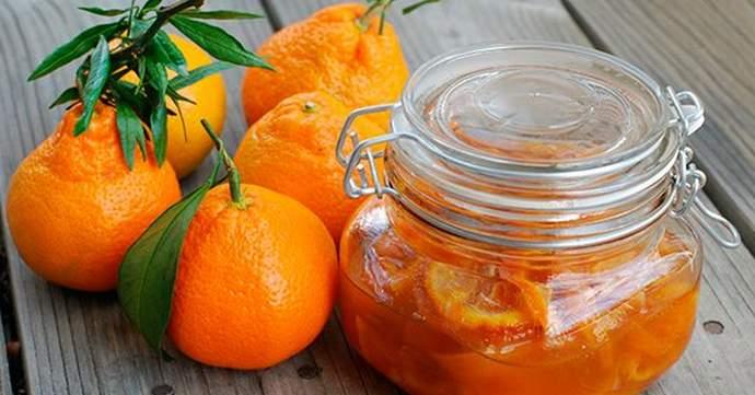 Варенье из мандаринов с корицей