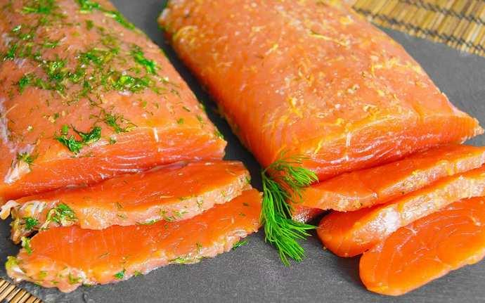 Дальневосточный способ хранения красной рыбы