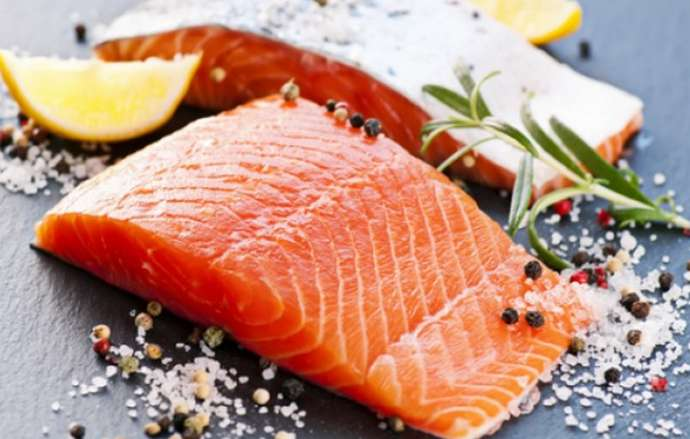Рыба засоленная под лососину
