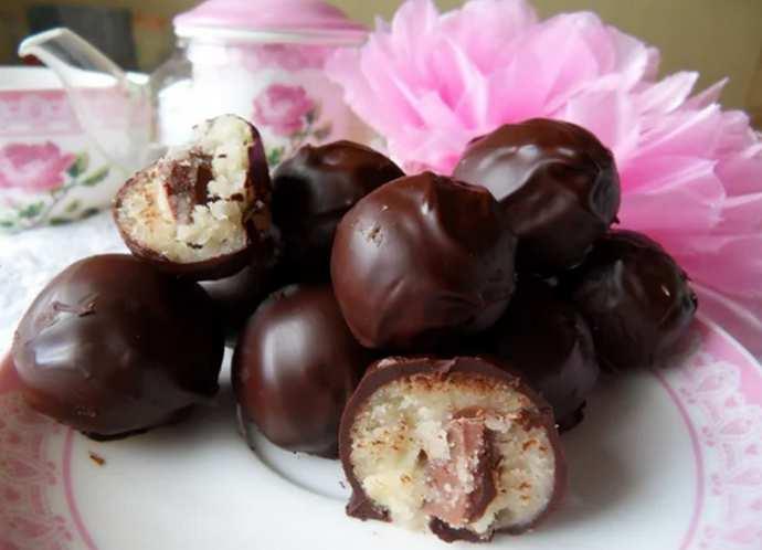 Марципан в шоколаде домашний