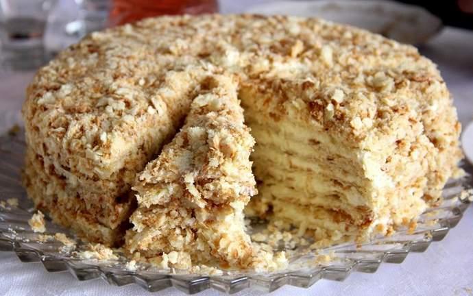 Классический рецепт торта Медовик со сметанным кремом