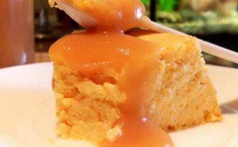 Творожное суфле с яблоком и морковью