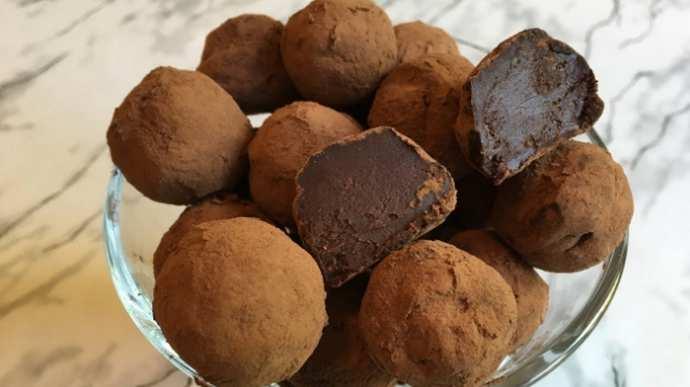 Домашние конфеты Трюфель