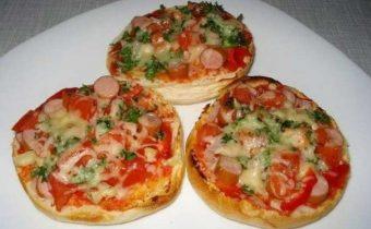 Пицца в булочке