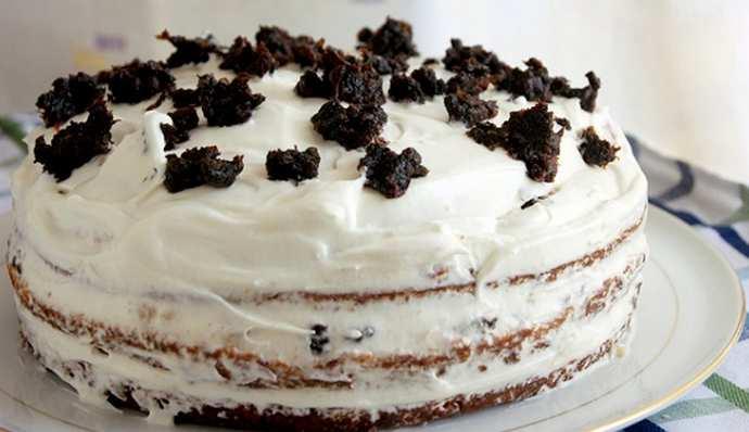 Медовик на кефире - приготовление торта