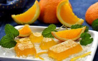 Домашний мармелад из апельсина