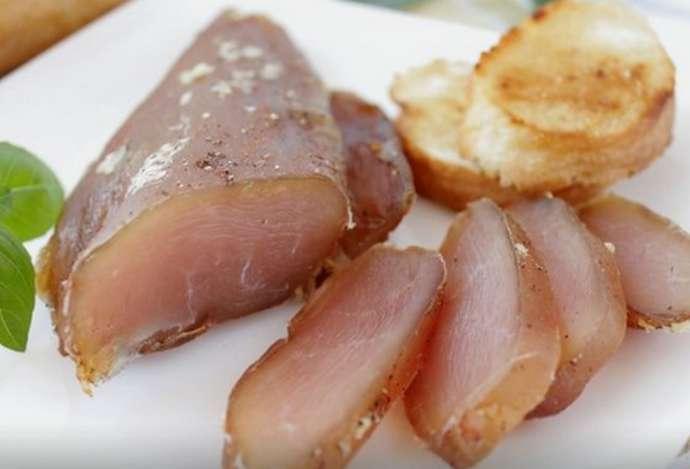 Вяленая куриная грудка - рецепт приготовления