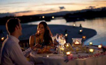 Романтический ужин. Меню