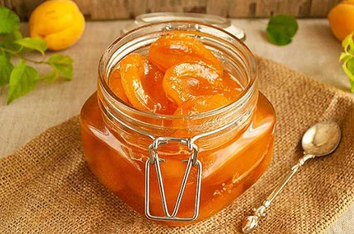 Классическое варенье из абрикосов