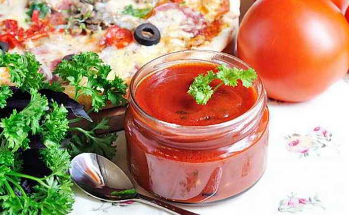 Домашний томатный сооус