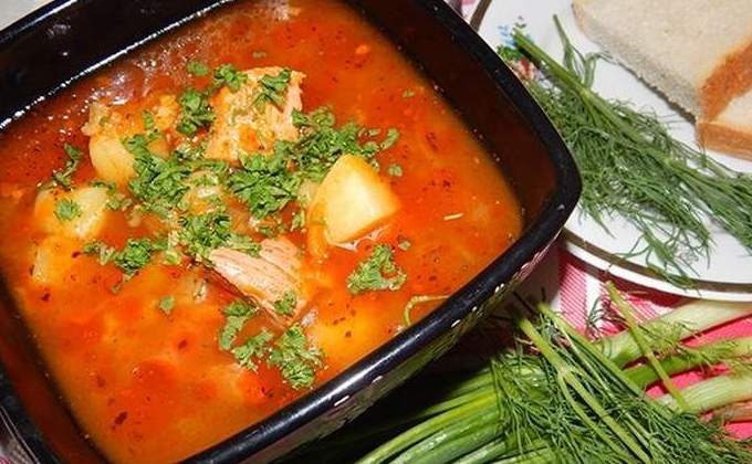 рецепт супа харчо с картошкой и рисом