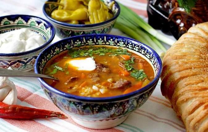 рецепт супа харчо с говядиной и сливами